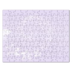 Pastel Violet Abstract Flowers Jigsaw Puzzle (Rectangle)