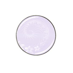 Pastel Violet Abstract Flowers Golf Ball Marker (for Hat Clip)