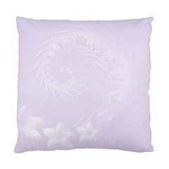 Pastel Violet Abstract Flowers Cushion Case (two Sides)