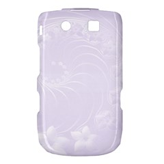 Pastel Violet Abstract Flowers BlackBerry Torch 9800 9810 Hardshell Case