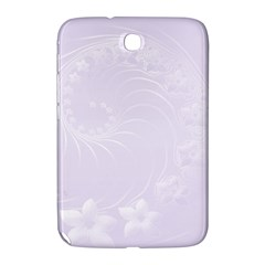 Pastel Violet Abstract Flowers Samsung Galaxy Note 8.0 N5100 Hardshell Case