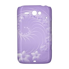 Light Violet Abstract Flowers HTC ChaCha / HTC Status Hardshell Case