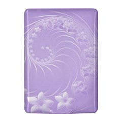 Light Violet Abstract Flowers Kindle 4 Hardshell Case