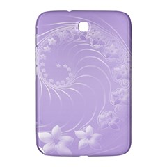 Light Violet Abstract Flowers Samsung Galaxy Note 8.0 N5100 Hardshell Case