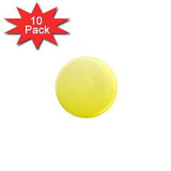 Cream To Cadmium Yellow Gradient 1  Mini Button Magnet (10 pack)