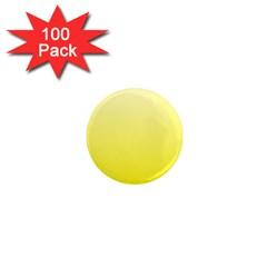 Cream To Cadmium Yellow Gradient 1  Mini Button Magnet (100 pack)