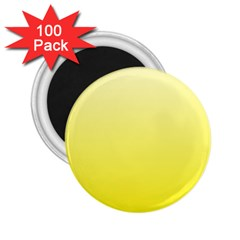 Cream To Cadmium Yellow Gradient 2.25  Button Magnet (100 pack)