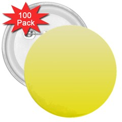 Cream To Cadmium Yellow Gradient 3  Button (100 Pack)