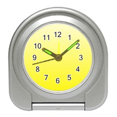 Cream To Cadmium Yellow Gradient Desk Alarm Clock