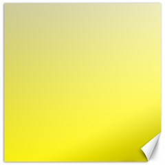 Cream To Cadmium Yellow Gradient Canvas 12  x 12  (Unframed)