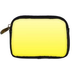 Cream To Cadmium Yellow Gradient Digital Camera Leather Case