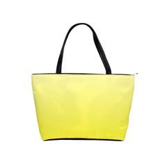 Cream To Cadmium Yellow Gradient Large Shoulder Bag