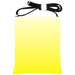 Cream To Cadmium Yellow Gradient Shoulder Sling Bag