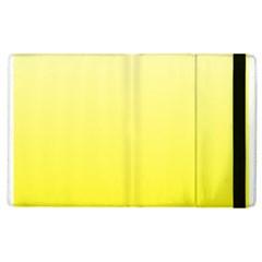 Cream To Cadmium Yellow Gradient Apple iPad 3/4 Flip Case