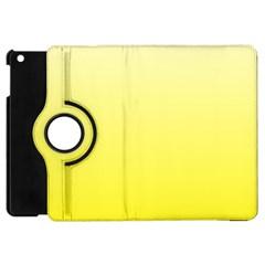 Cream To Cadmium Yellow Gradient Apple iPad Mini Flip 360 Case