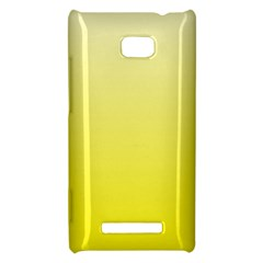 Cream To Cadmium Yellow Gradient HTC 8X Hardshell Case