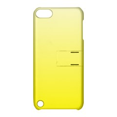 Cream To Cadmium Yellow Gradient Apple iPod Touch 5 Hardshell Case with Stand