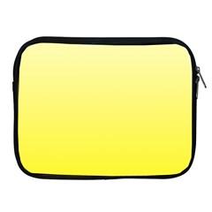 Cream To Cadmium Yellow Gradient Apple iPad 2/3/4 Zipper Case