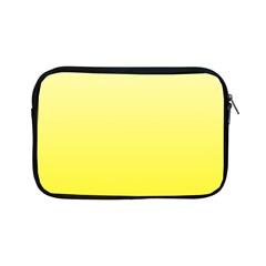 Cream To Cadmium Yellow Gradient Apple iPad Mini Zipper Case