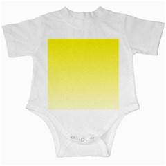 Cadmium Yellow To Cream Gradient Infant Creeper