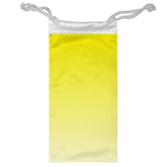 Cadmium Yellow To Cream Gradient Jewelry Bag