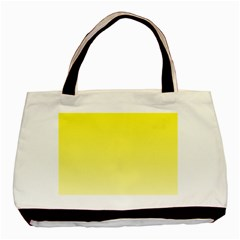 Cadmium Yellow To Cream Gradient Classic Tote Bag