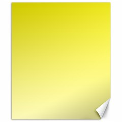 Cadmium Yellow To Cream Gradient Canvas 8  X 10  (unframed)