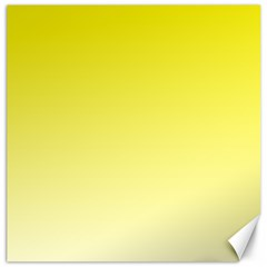 Cadmium Yellow To Cream Gradient Canvas 16  X 16  (unframed)