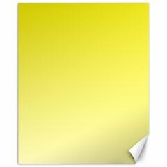 Cadmium Yellow To Cream Gradient Canvas 11  x 14  9 (Unframed)