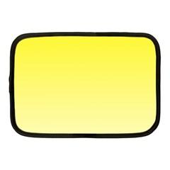 Cadmium Yellow To Cream Gradient Netbook Case (Medium)