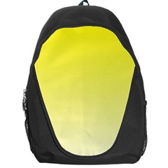 Cadmium Yellow To Cream Gradient Backpack Bag