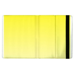 Cadmium Yellow To Cream Gradient Apple iPad 3/4 Flip Case