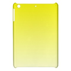 Cadmium Yellow To Cream Gradient Apple iPad Mini Hardshell Case
