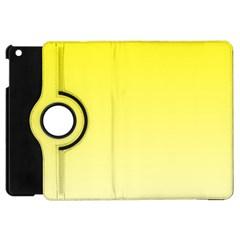 Cadmium Yellow To Cream Gradient Apple iPad Mini Flip 360 Case