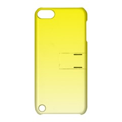 Cadmium Yellow To Cream Gradient Apple iPod Touch 5 Hardshell Case with Stand