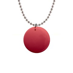 Pastel Red To Burgundy Gradient Button Necklace