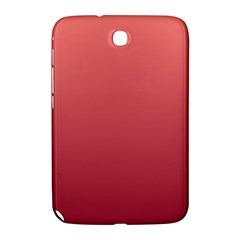 Pastel Red To Burgundy Gradient Samsung Galaxy Note 8.0 N5100 Hardshell Case