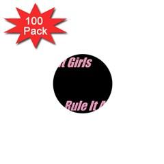Petchatgirlsrule 1  Mini Button (100 pack)