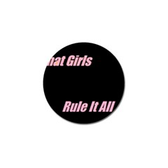 Petchatgirlsrule Golf Ball Marker 4 Pack
