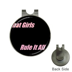 Petchatgirlsrule Hat Clip With Golf Ball Marker