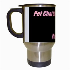 Petchatgirlsrule Travel Mug (White)