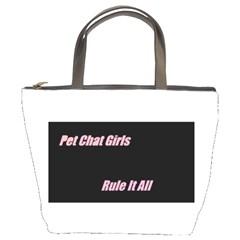 Petchatgirlsrule Bucket Bag