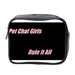 Petchatgirlsrule Mini Travel Toiletry Bag (Two Sides)