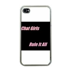 Petchatgirlsrule Apple Iphone 4 Case (clear)