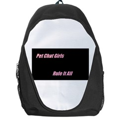 Petchatgirlsrule Backpack Bag