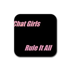 Petchatgirlsrule Drink Coaster (square)