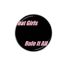 Petchatgirlsrule Golf Ball Marker 4 Pack (for Hat Clip)