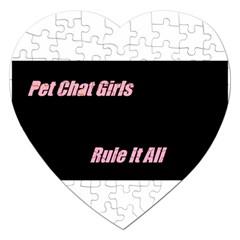 Petchatgirlsrule Jigsaw Puzzle (Heart)