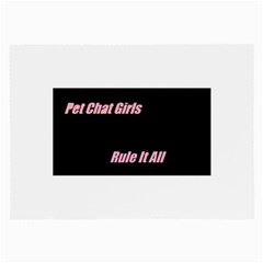 Petchatgirlsrule Glasses Cloth (Large, Two Sided)