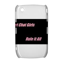 Petchatgirlsrule BlackBerry Curve 8520 9300 Hardshell Case